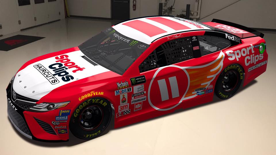 2017 Denny Hamlin Darlington Throwback