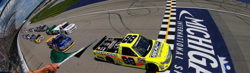 Michigan Starting Lineup: August 2020 (NASCAR Truck Series)