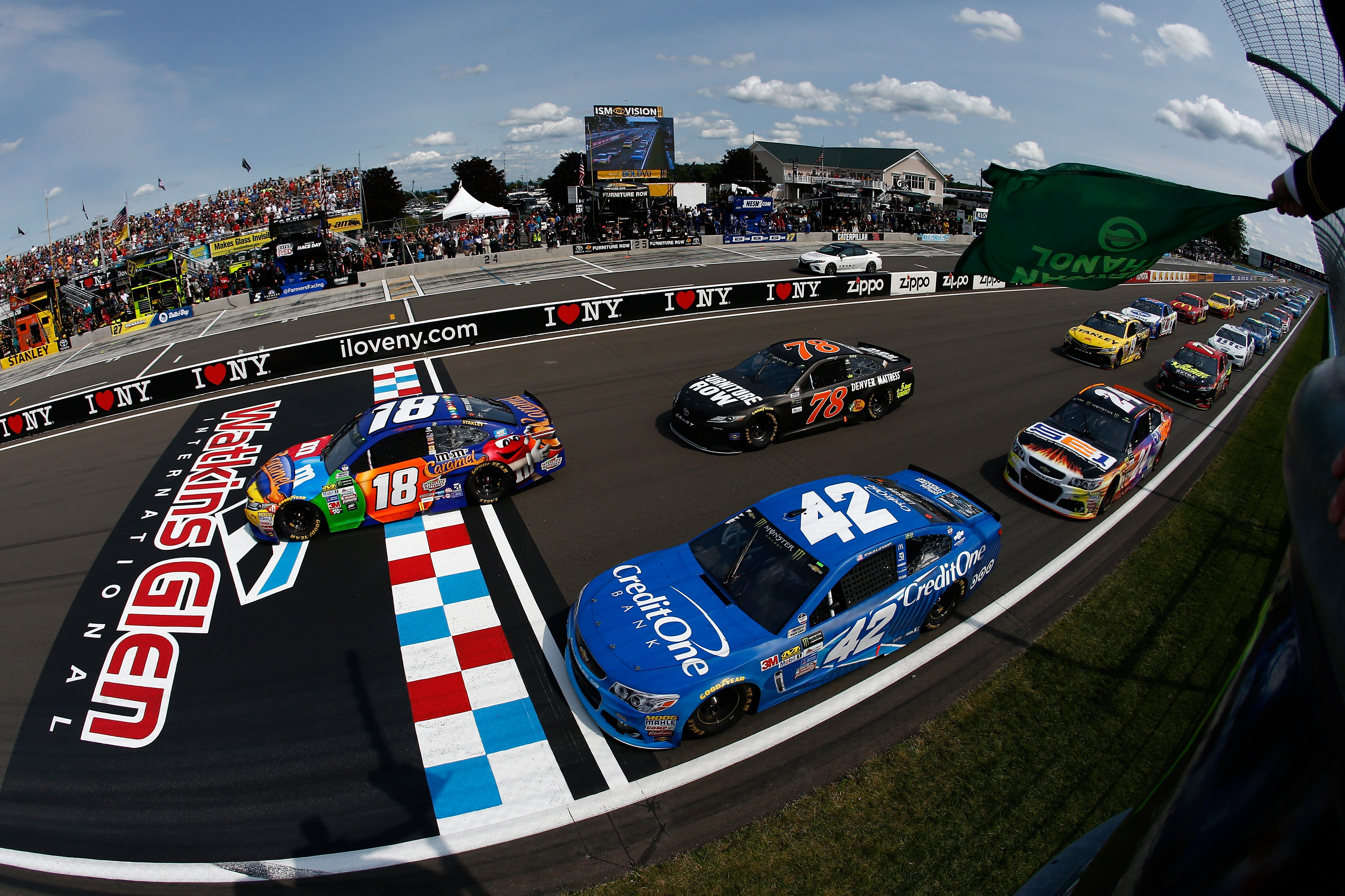2017 The Glen results - NASCAR Cup Series