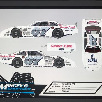 2017 Throwback paint schemes