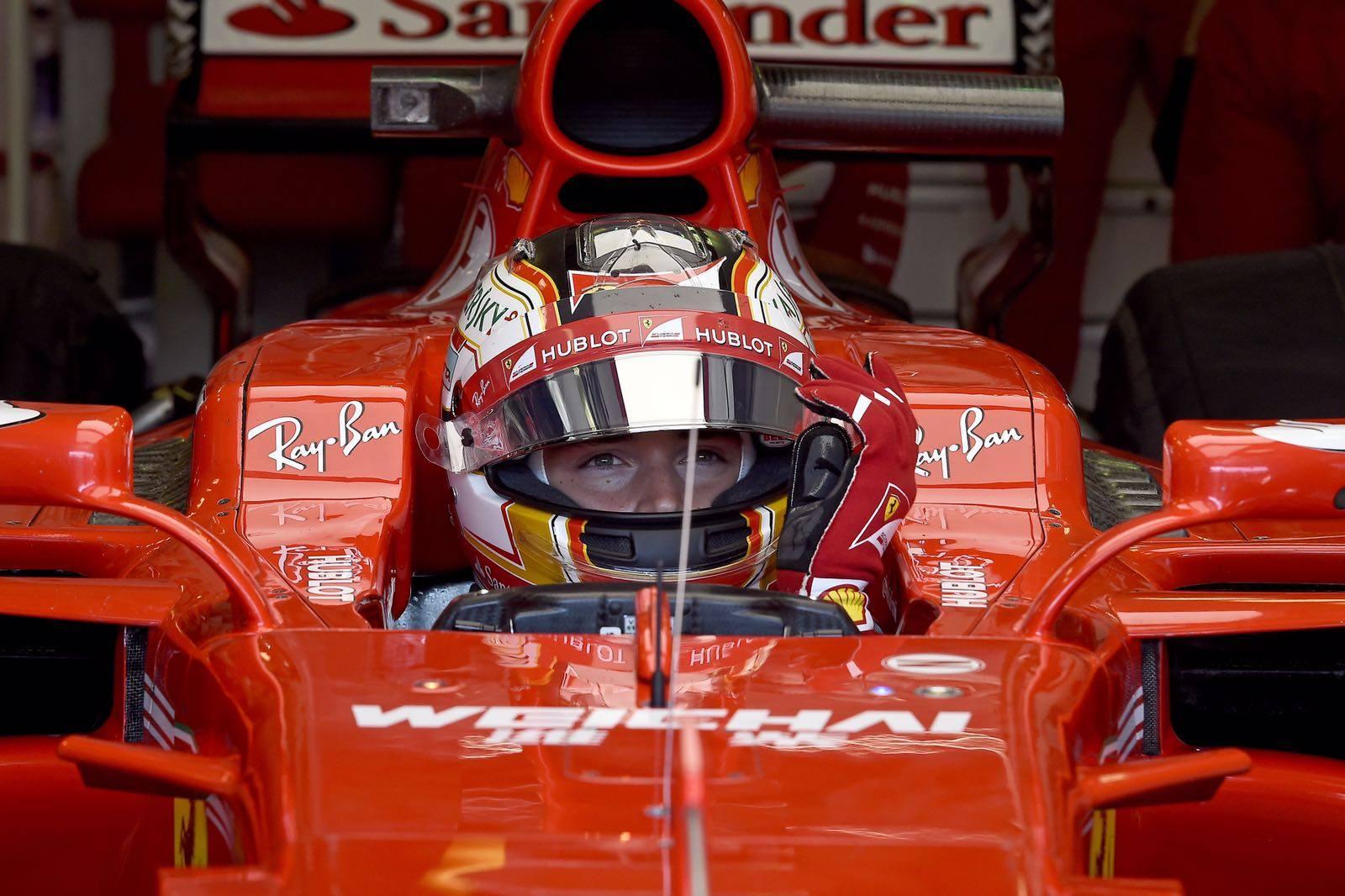 2018 Ferrari Kimi Raikkonen