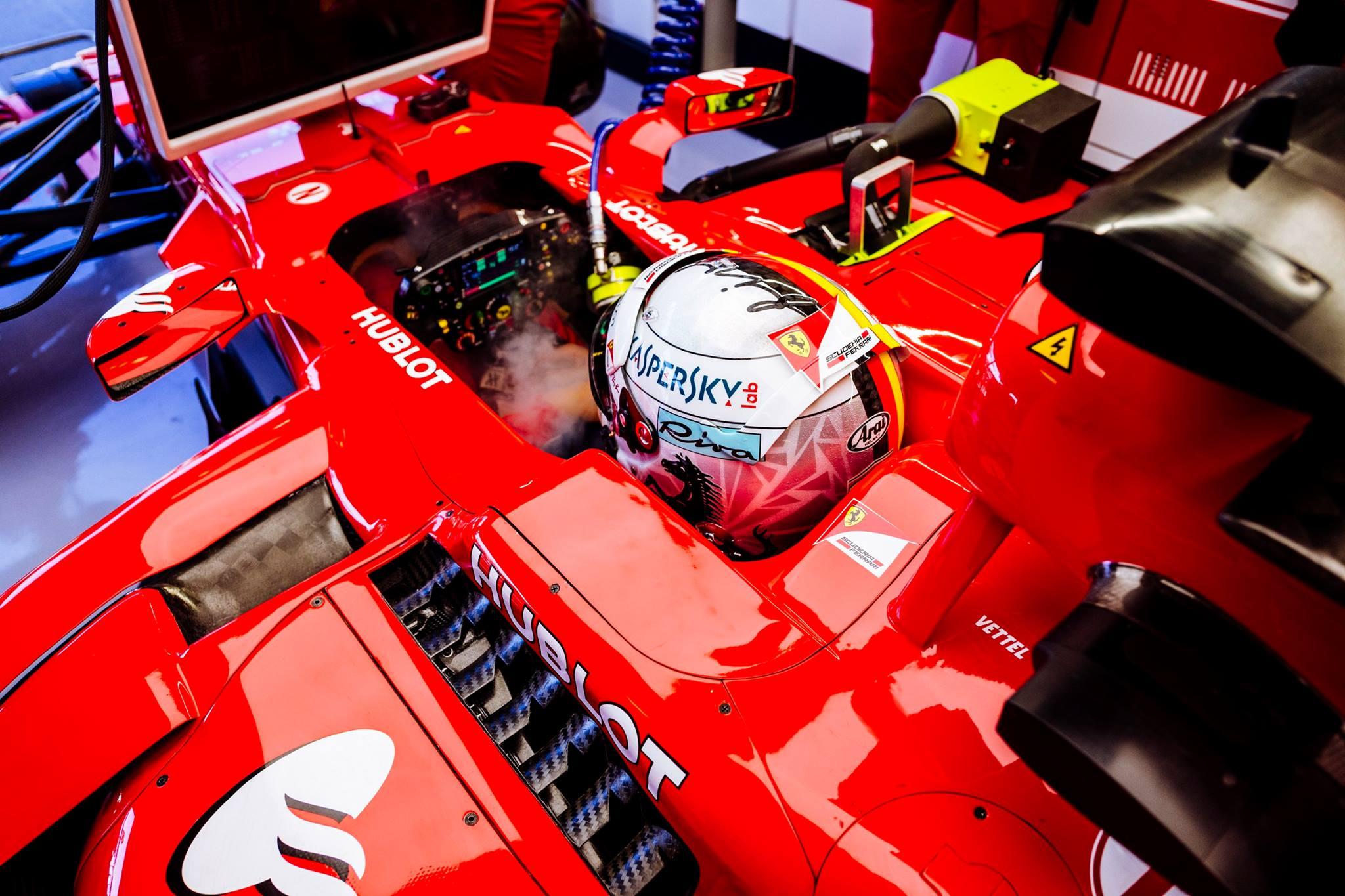 2018 Ferrari Sebastian Vettel