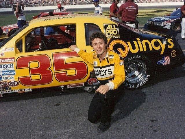 Alan Kulwicki yellow car