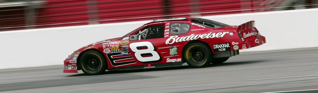 The number 8 will return to NASCAR in 2019