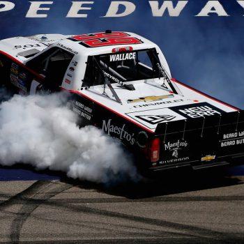 Darrell Wallace Jr win encumbered at Michigan International Speedway