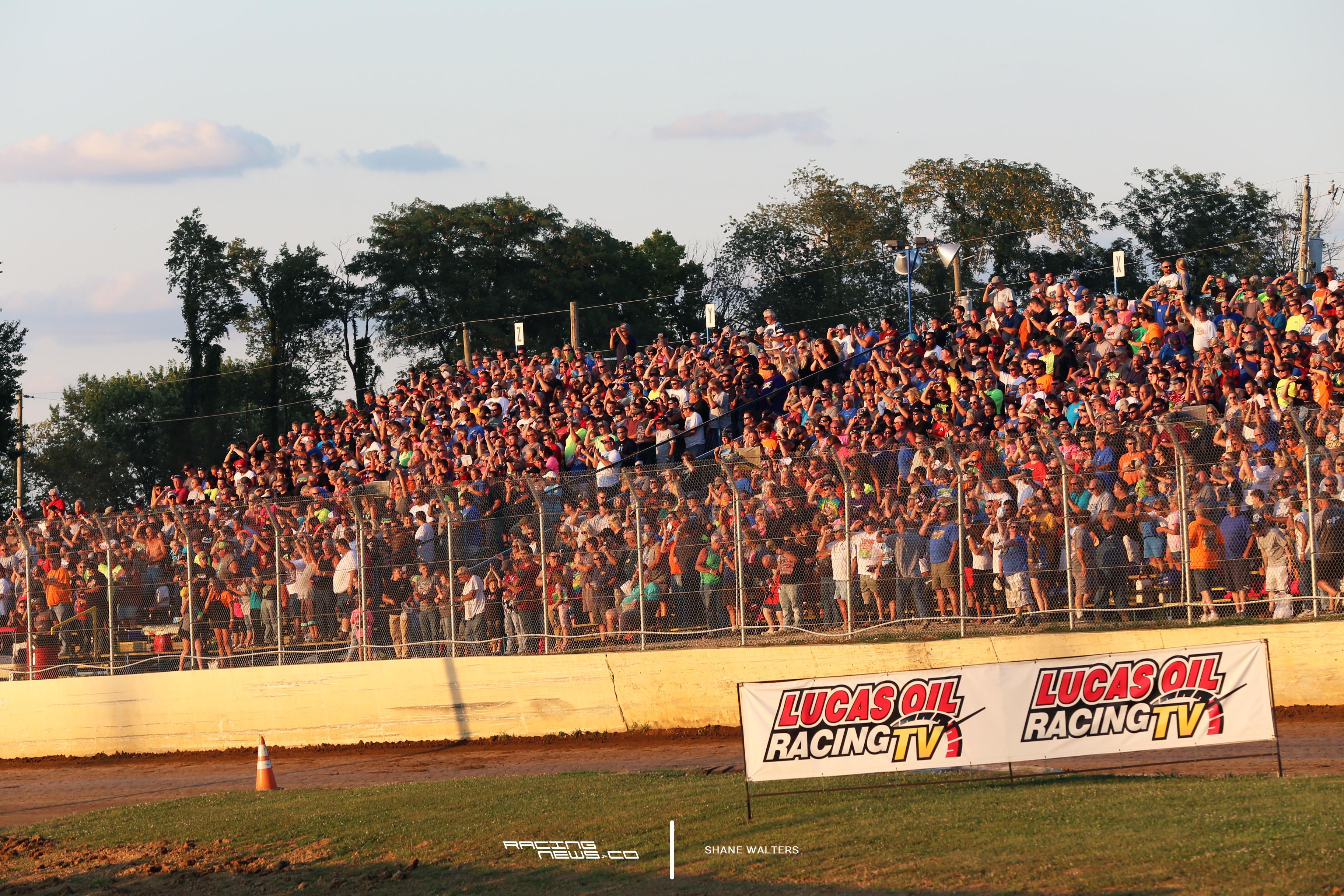 Florence Speedway Grandstands 4375