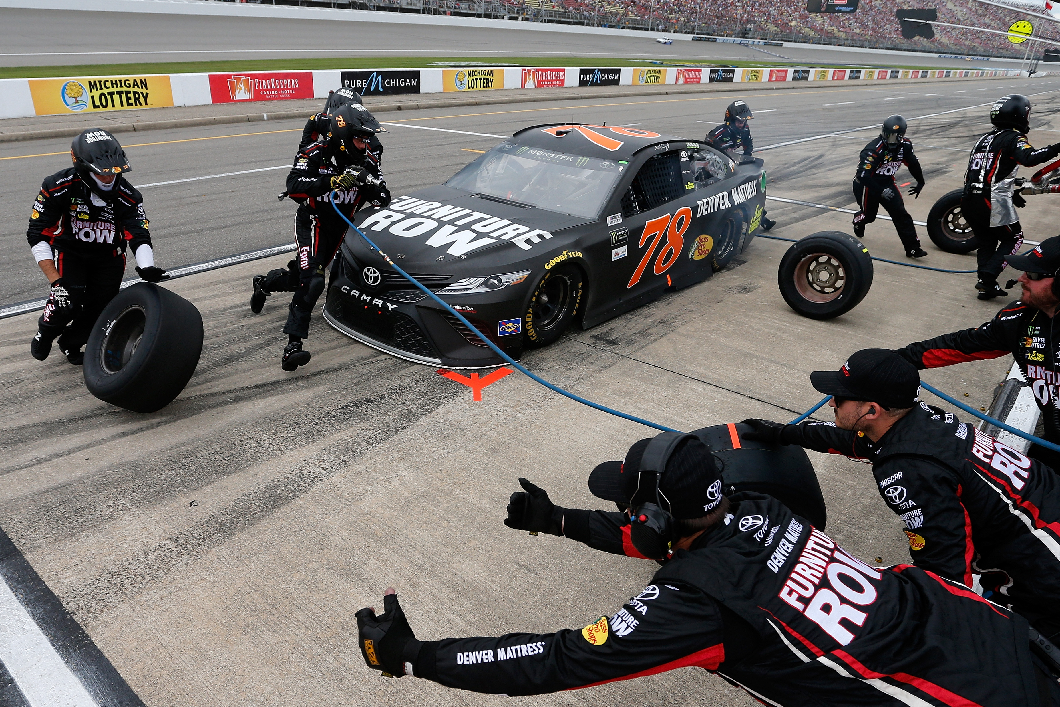 Furniture Row Racing Will Now Manage Their Own Crew Racing News