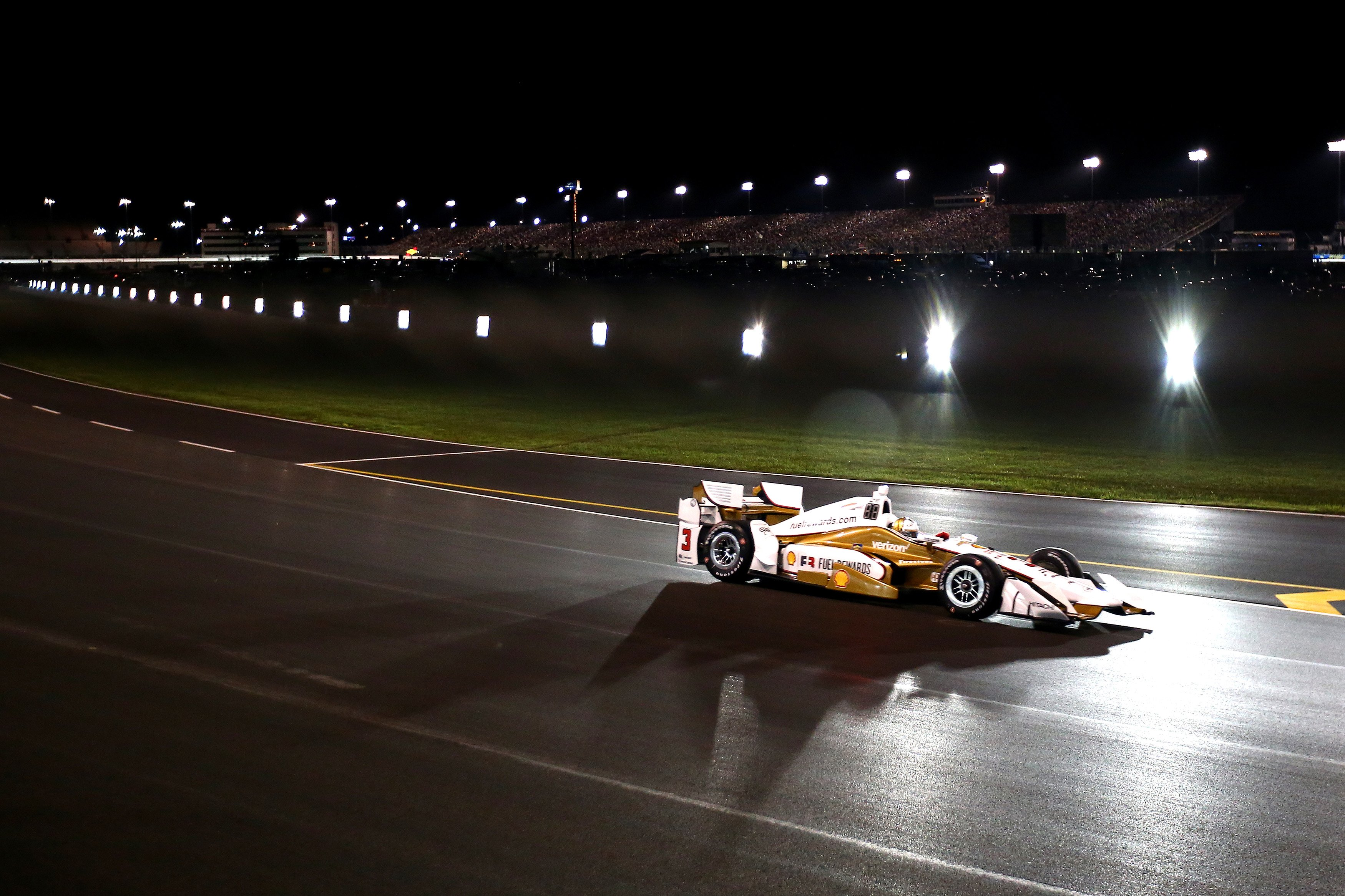 Helio Castroneves at Gateway Motorsports Park