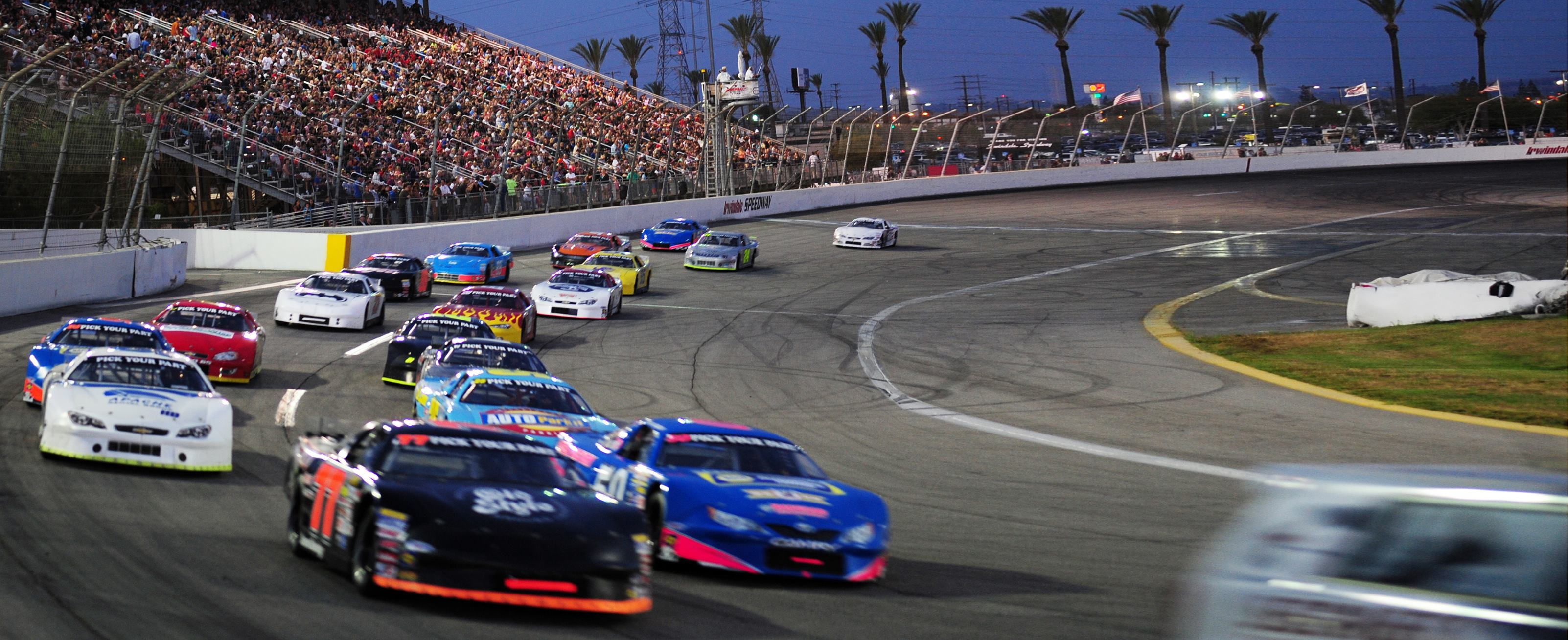 Irwindale Speedway race track closing