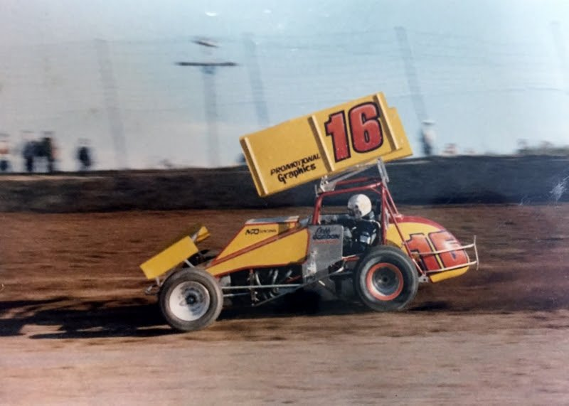 Jeff Gordon Sprint Car #16