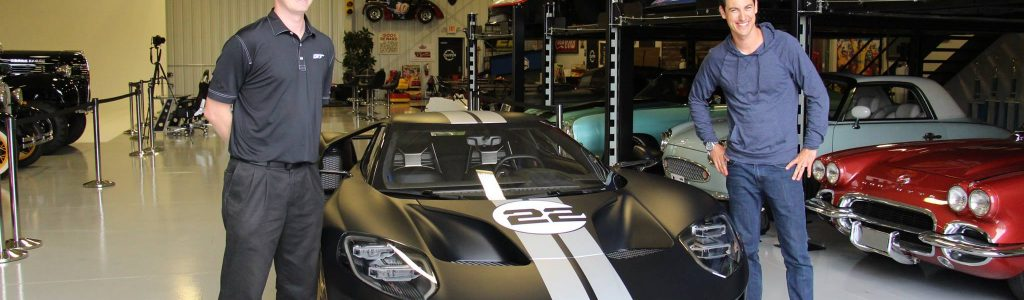 Nascar Driver Joey Logano Has New Ford Gt Delivered