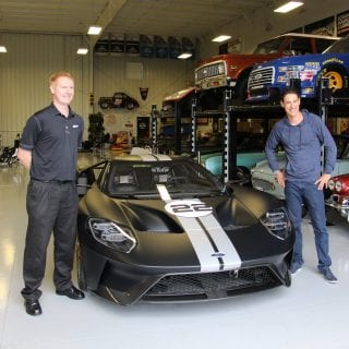 Joey Logano Car Collection - Ford GT delivered