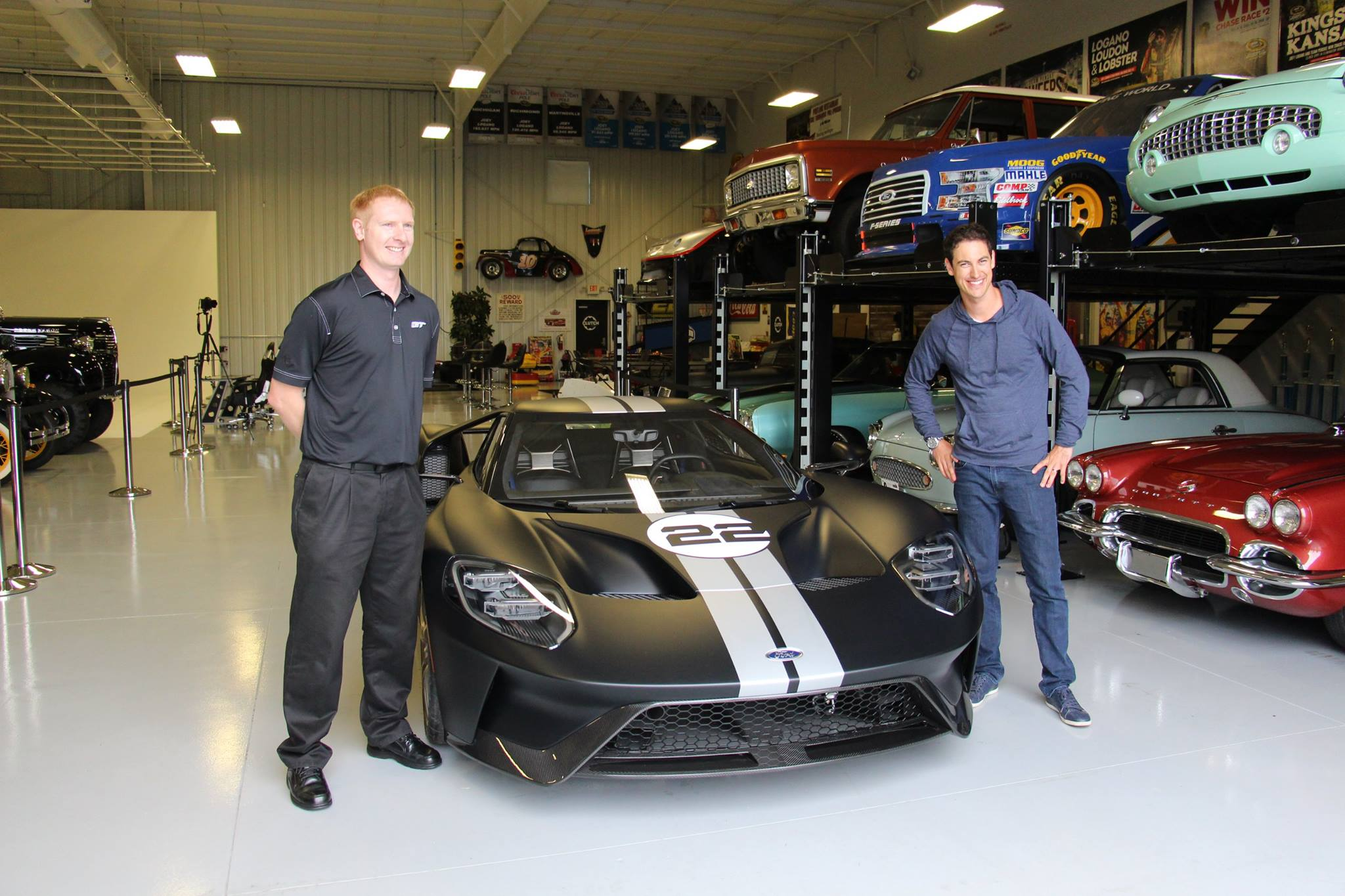 Joey Logano Car Collection Ford Gt Delivered