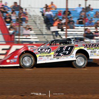 Jonathan Davenport Barry Wright Race Cars chassis