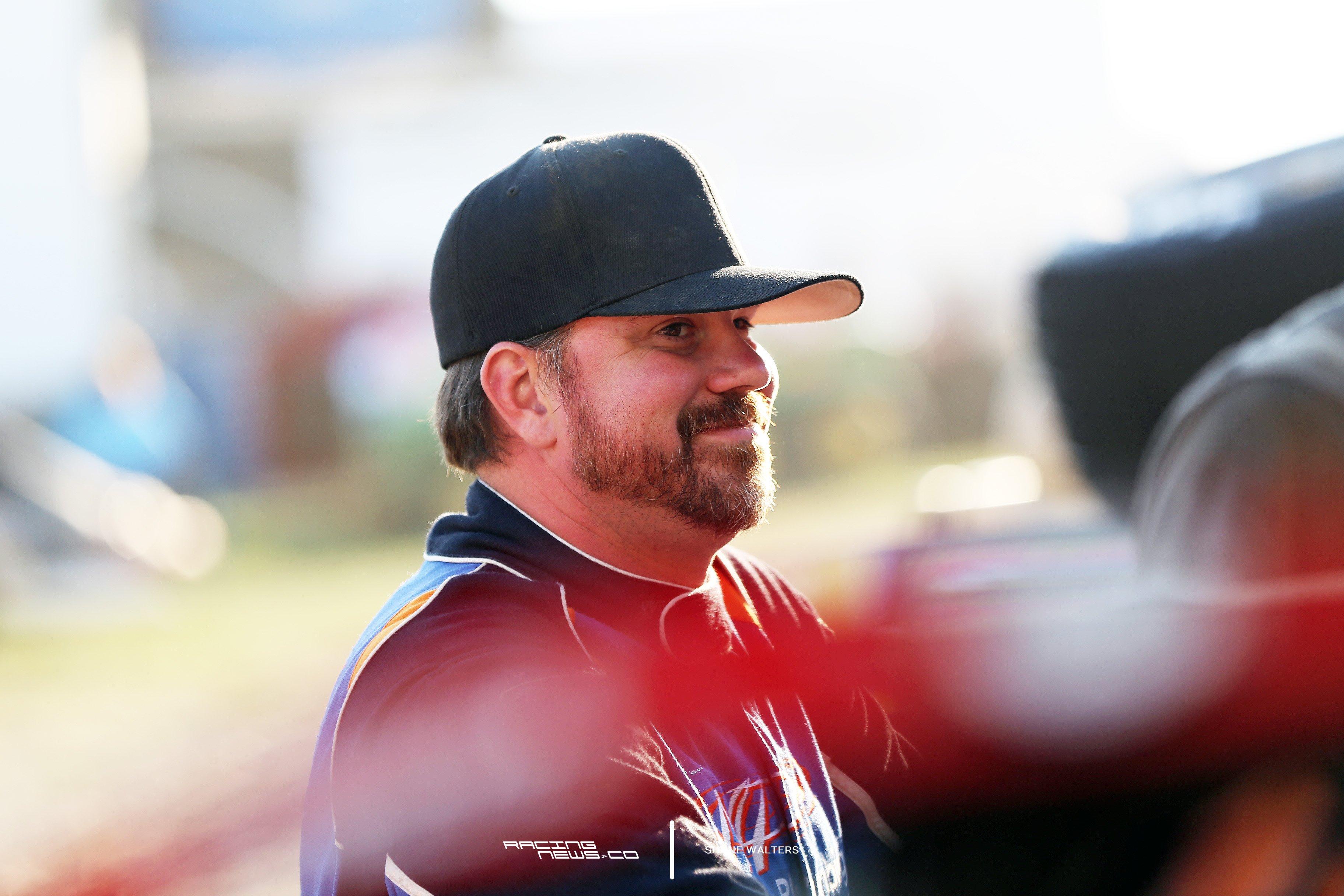 Jonathan Davenport Racing Driver 2872