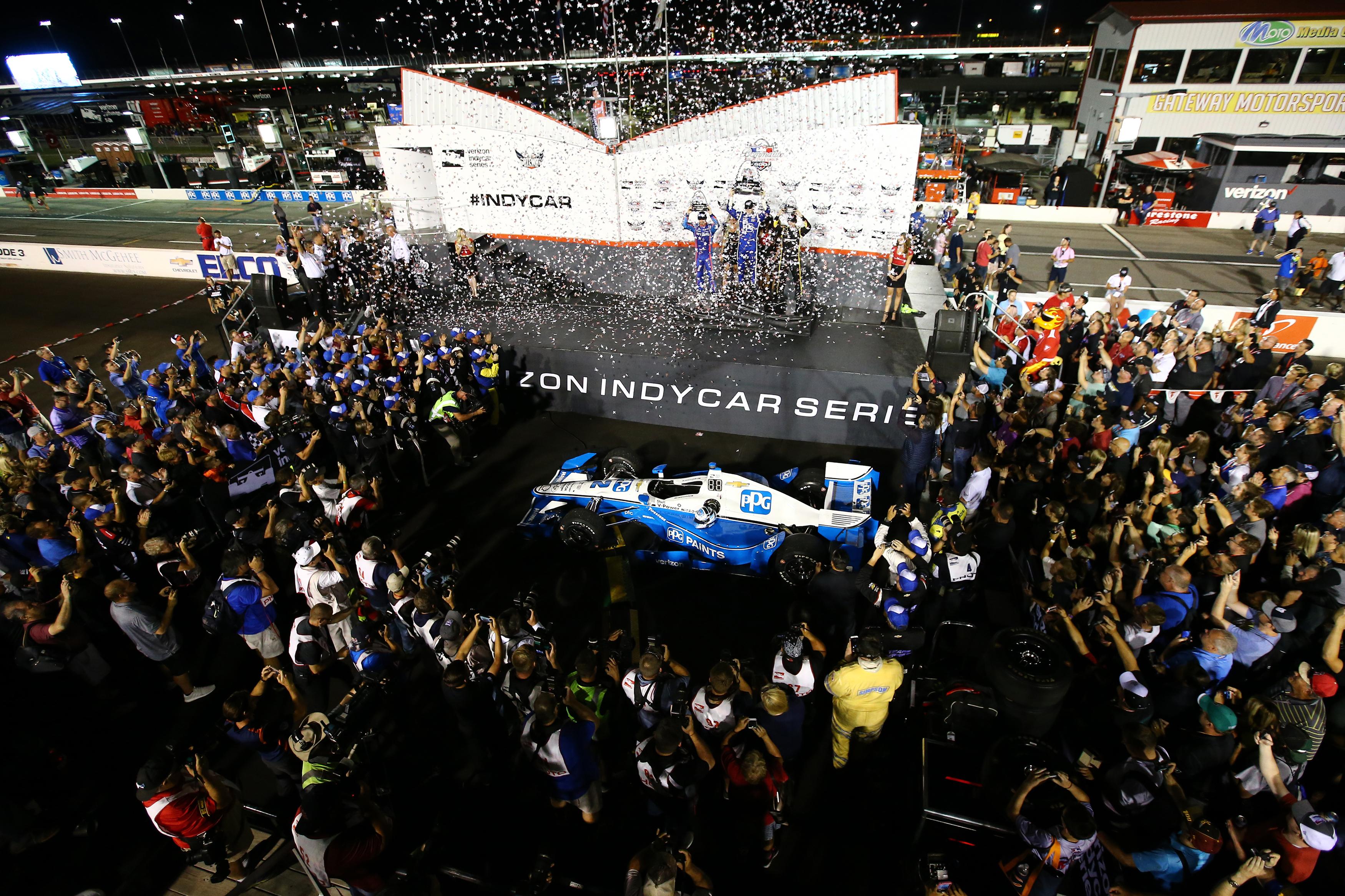Josef Newgarden wins at Gateway Motorsports Park