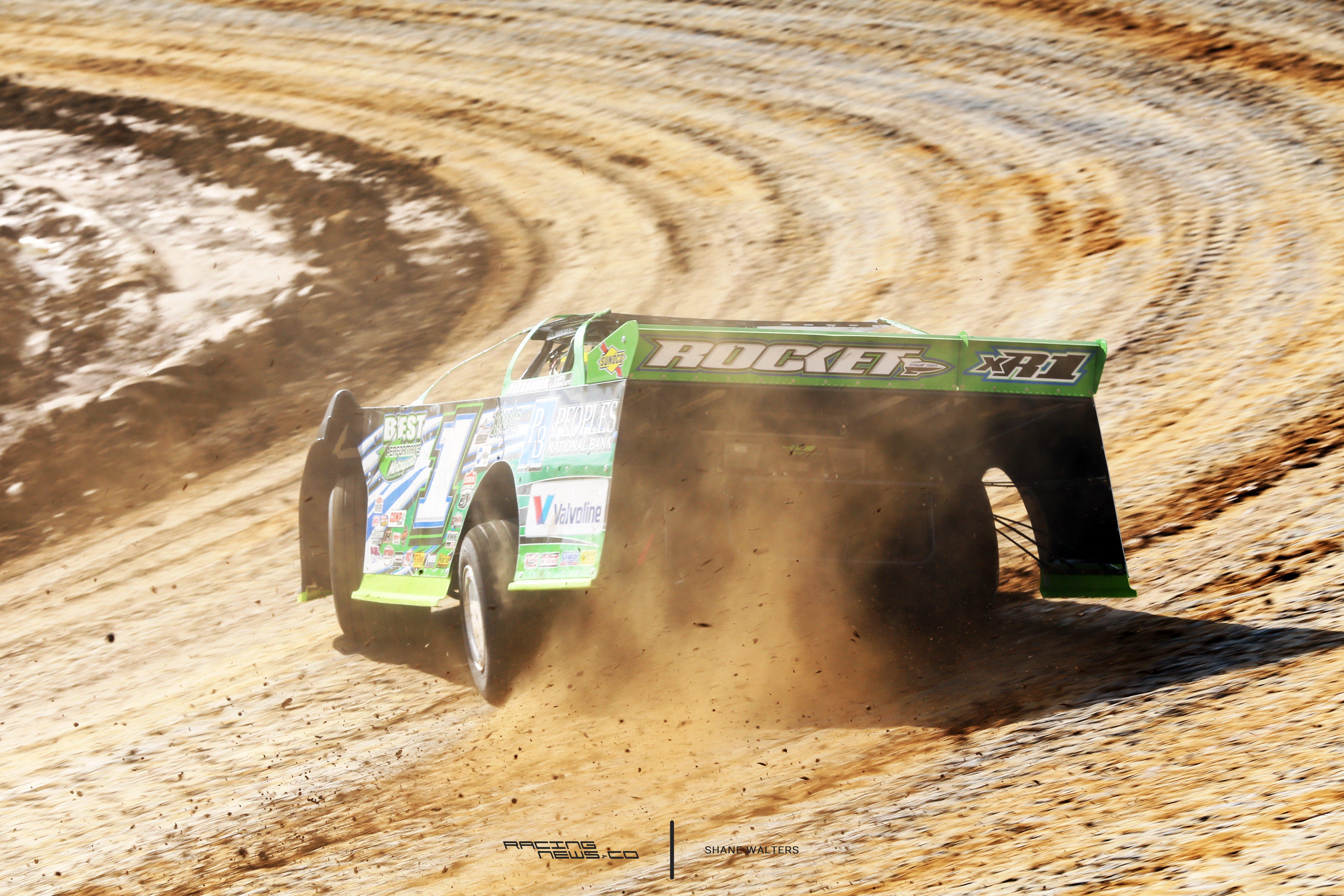 Josh Richards Lucas Oil Late Model Dirt Series Photos 4818