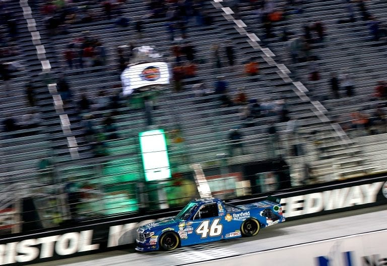 Kyle Busch talks speeding penalties at Bristol Motor Speedway