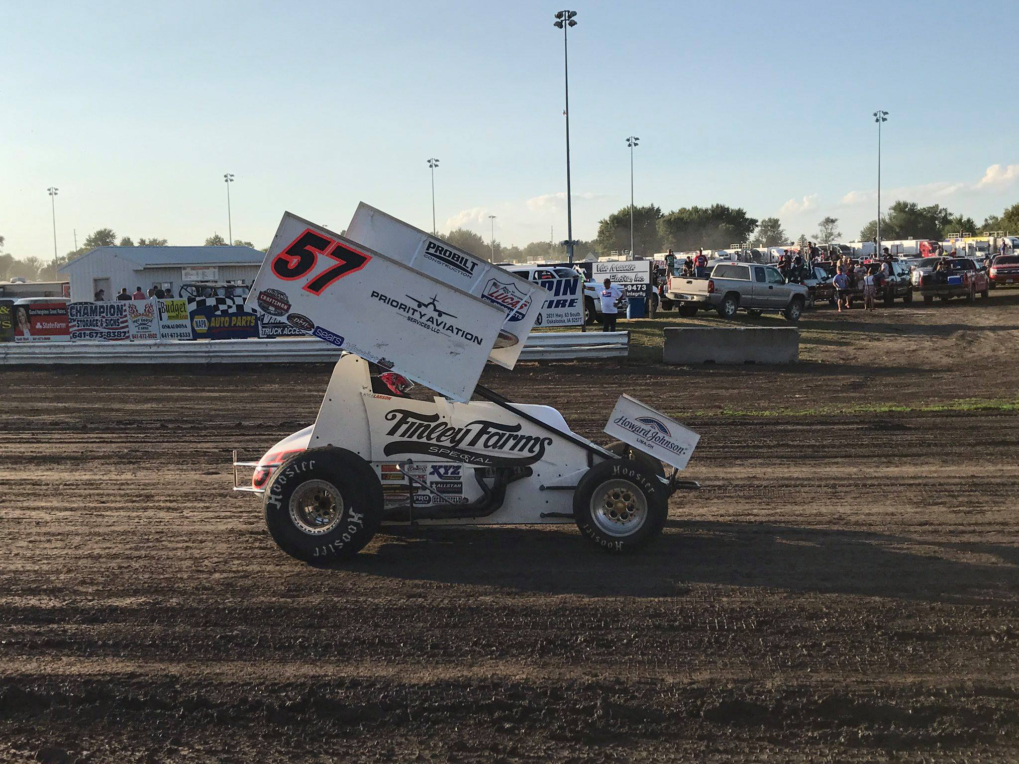Kyle Larson 2017 Knoxville Nationals