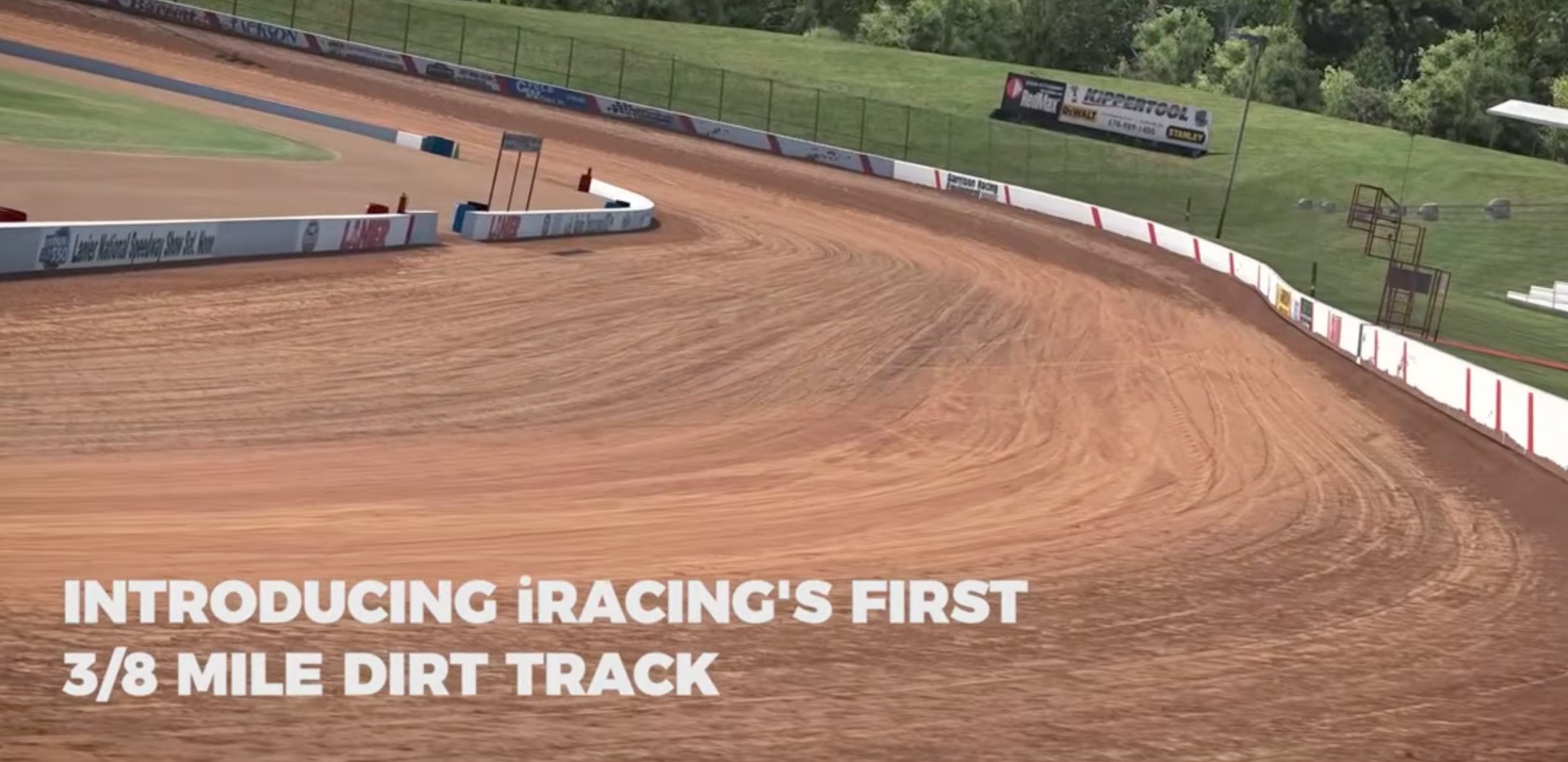 iRacing Dirt Modified and first 3/8 mile dirt track coming