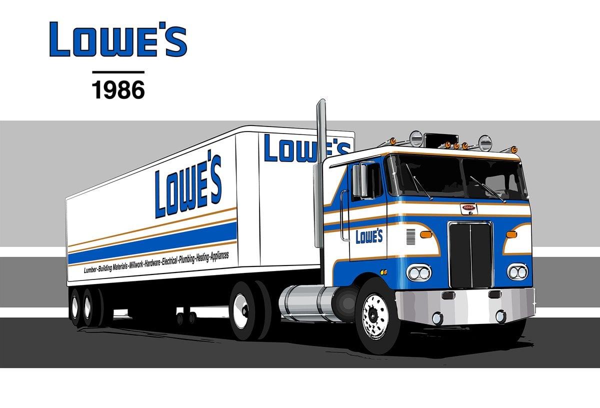 Lowes Truck 1986 2017 Jimmie Johnson Darlington Throwback Car Racing News