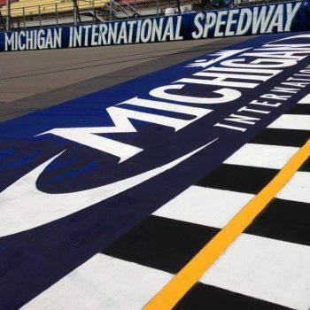 Michigan International Speedway starting lineup