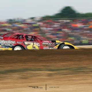 Muskingum County Speedway Ohio - R.J. Conley Photo
