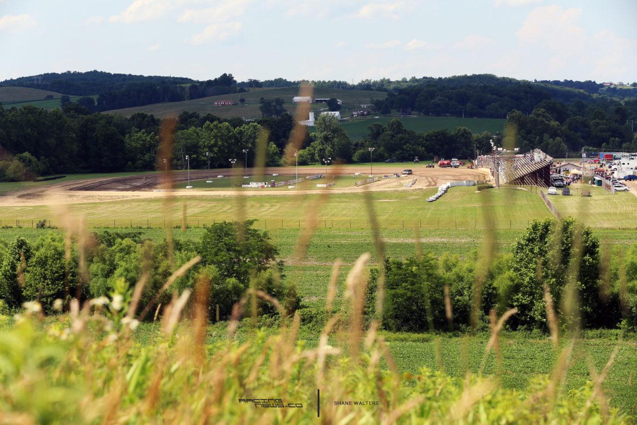 Muskingum County Speedway in Zanesville, OH