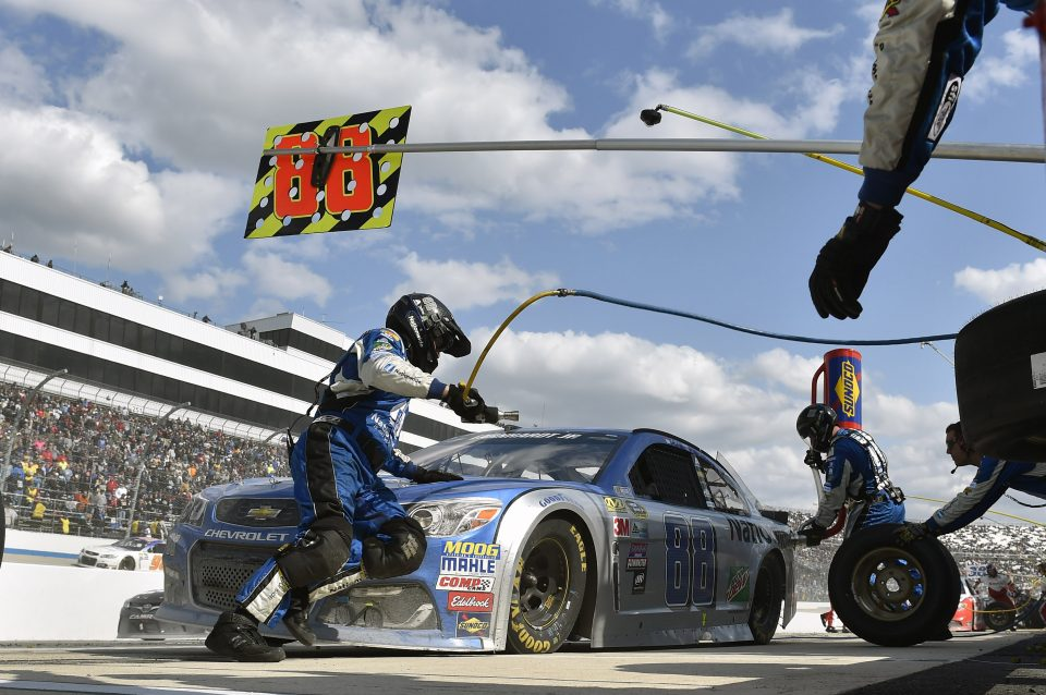 NASCAR Pitstop changes