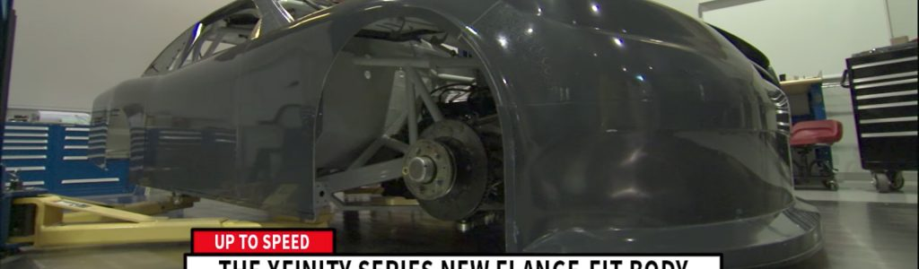 NASCAR composite body option available in 2017
