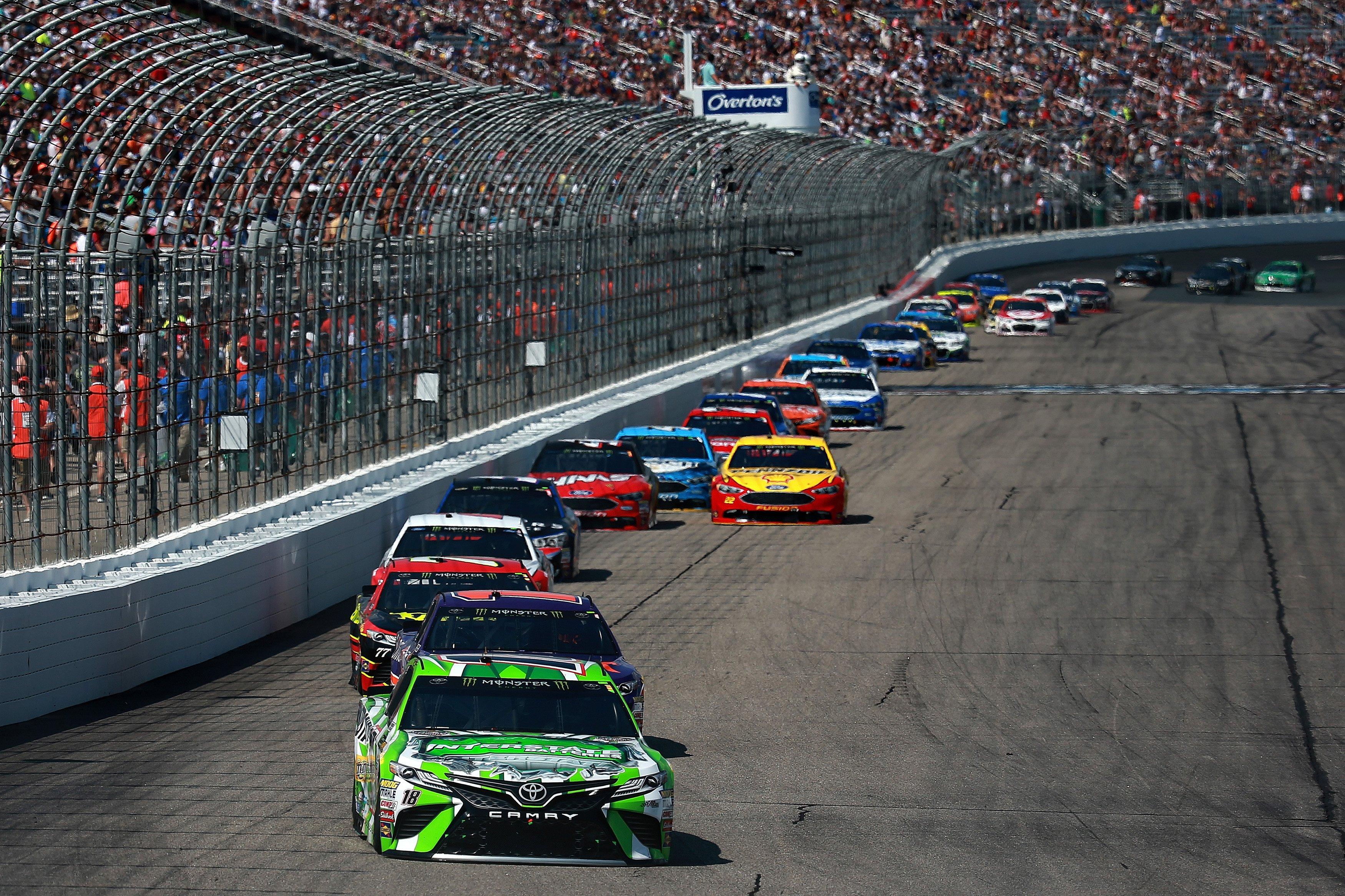 NASCAR crowd attendance down