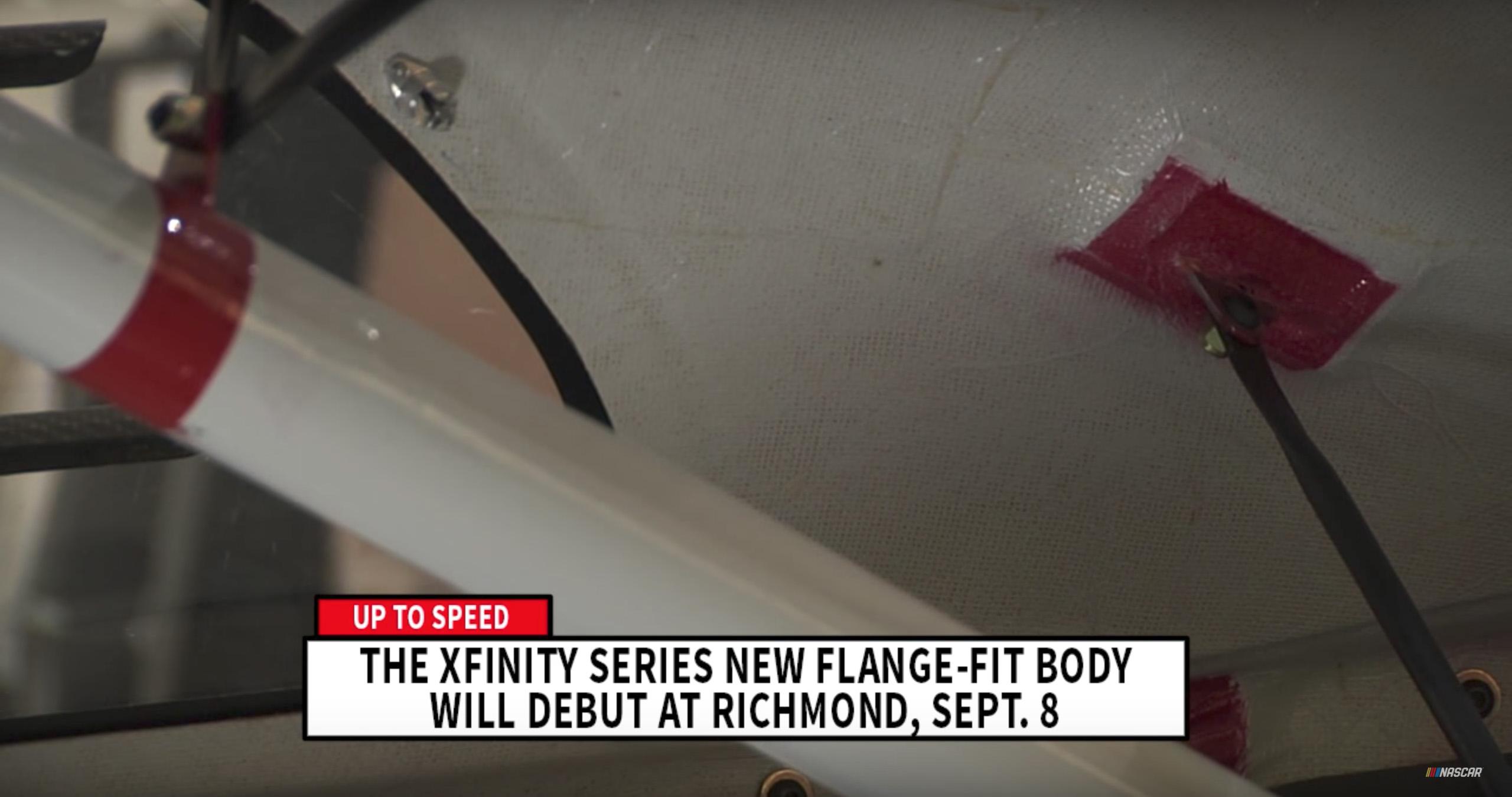 NASCAR flange-fit body mounts