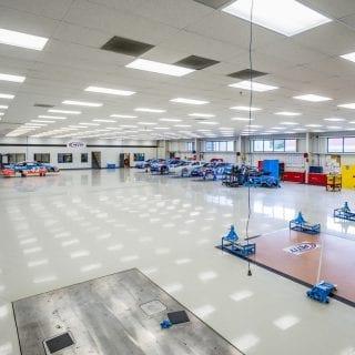 NASCAR shop tour - Richard Petty Motorsports