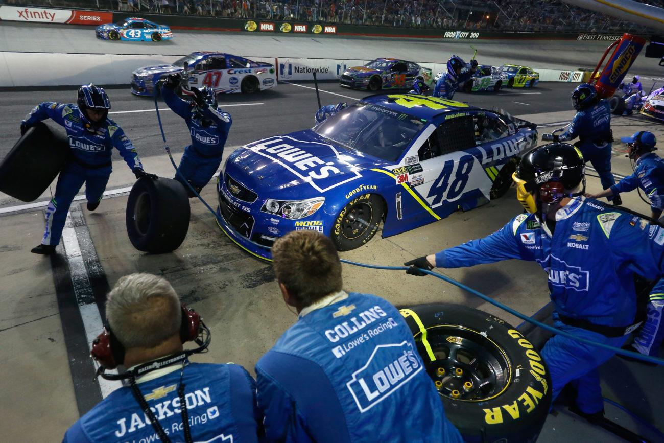 NASCAR talks about cone rule - Pir road race