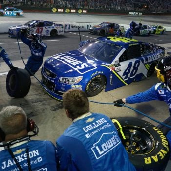 NASCAR talks about cone rule - Pir road race