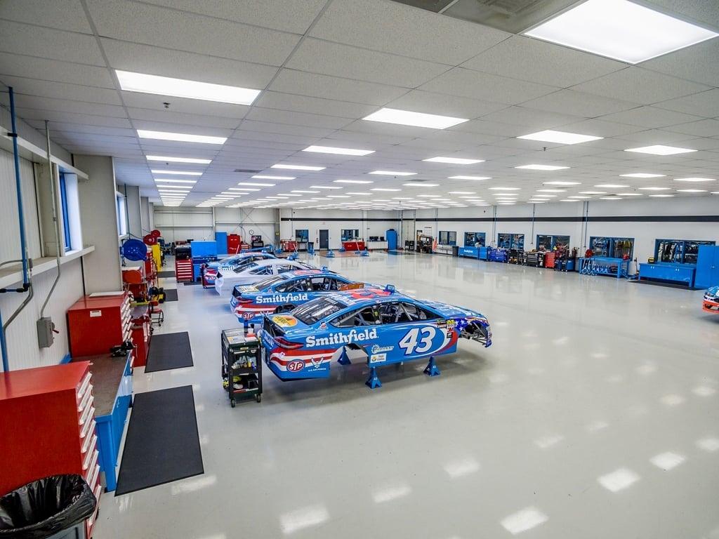 NASCAR team shop Richard Petty Motorsprots