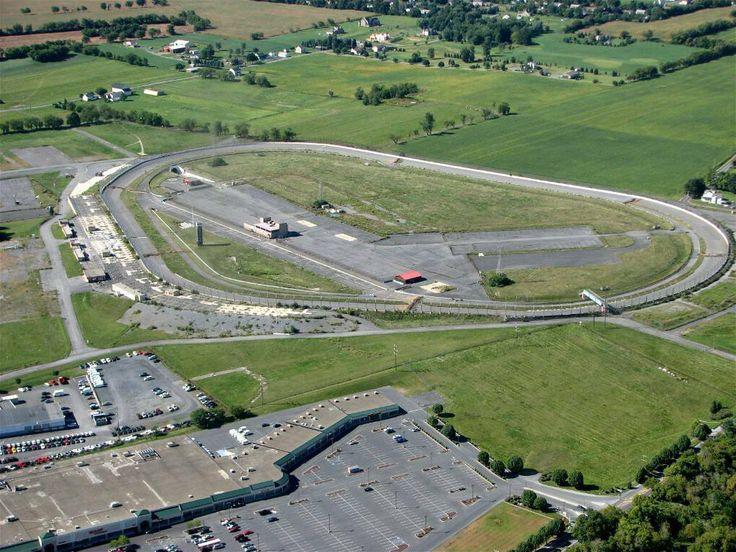 Nazareth Speedway Aerial