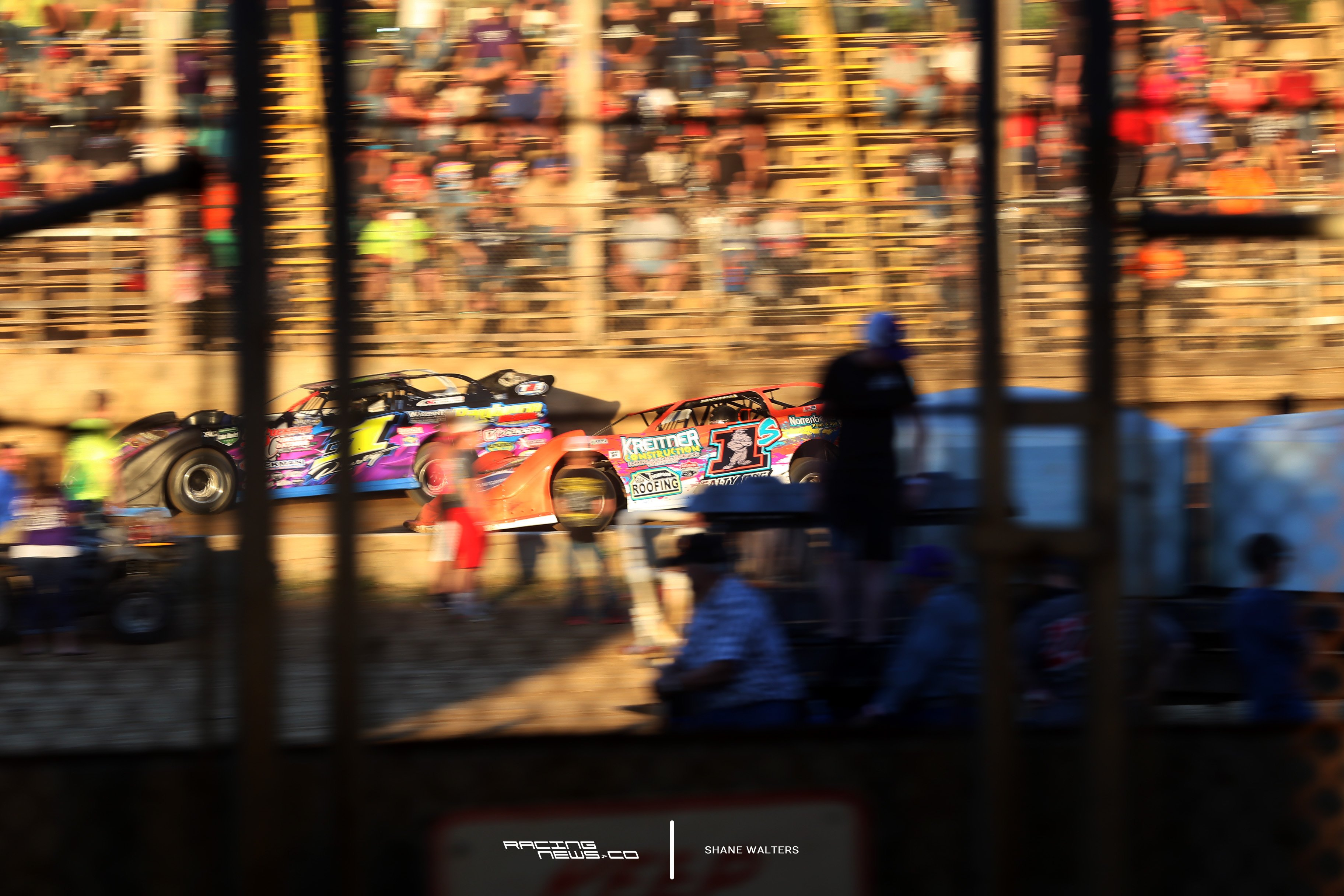 Rick Salter Rusty Schlenk Belle-Clair Speedway Photos 2558