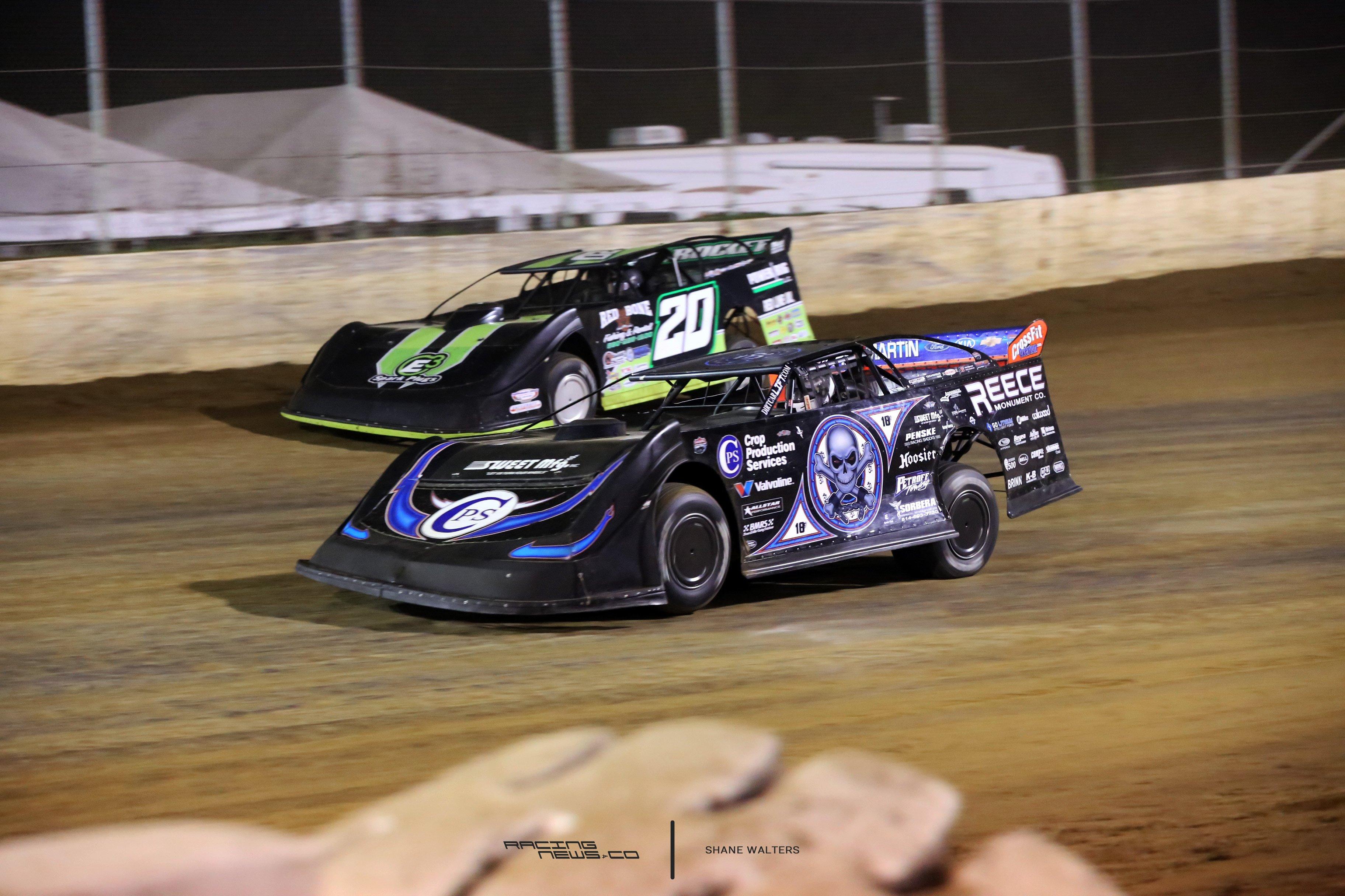Scott Bloomquist and Jimmy Owens 4603