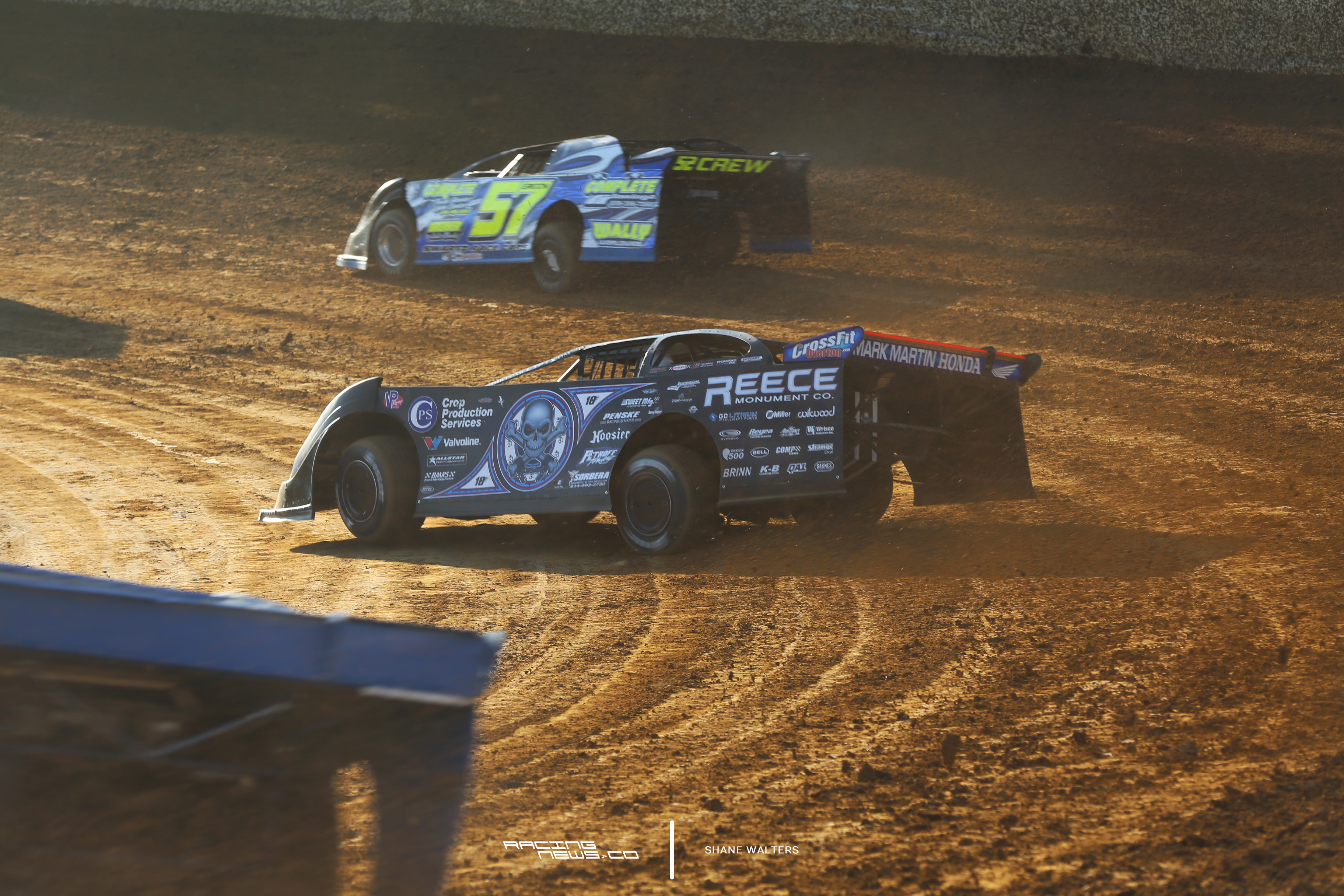 Scott Bloomquist at Florence Speedway