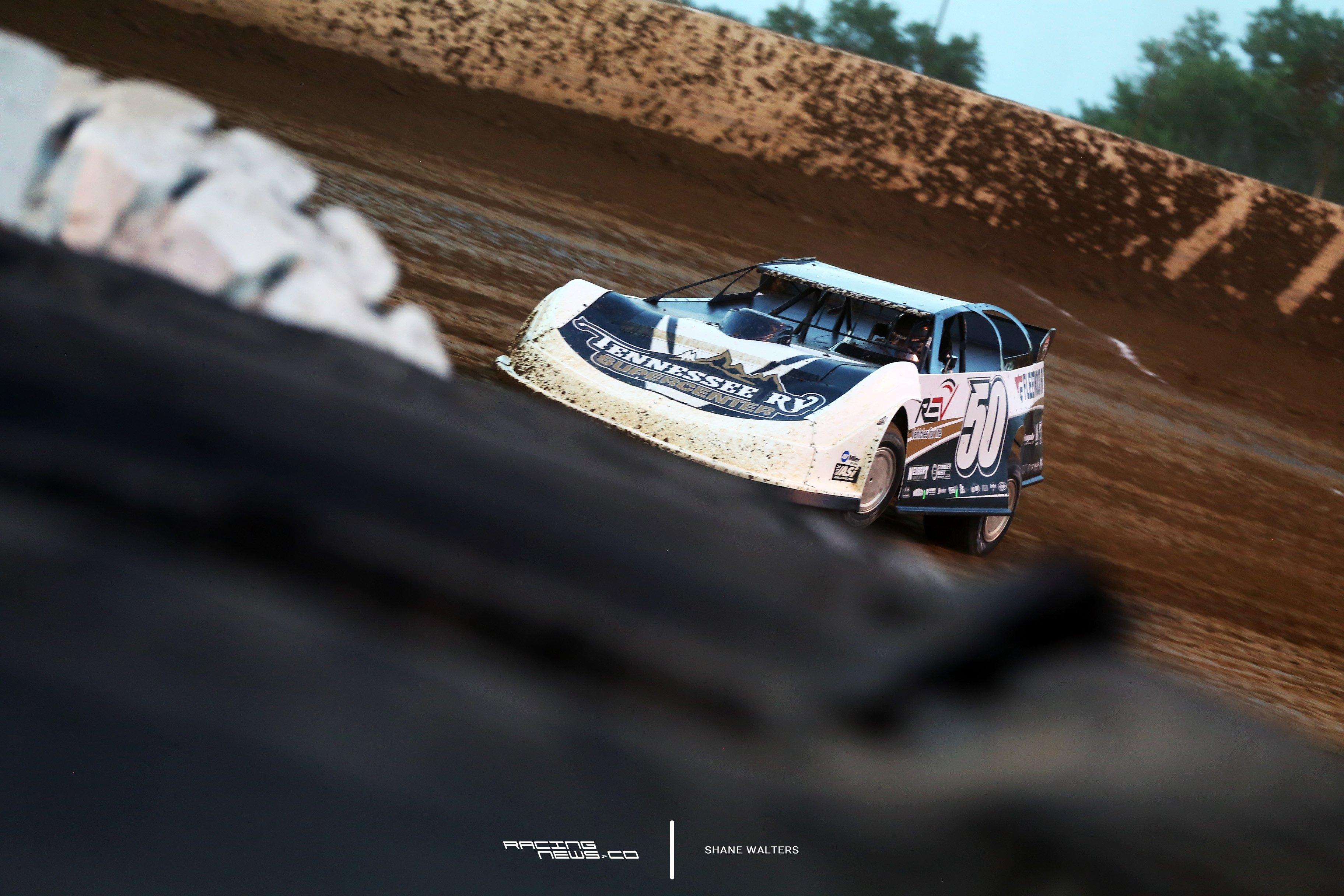 Shanon Buckingham at Florence Speedway 3195