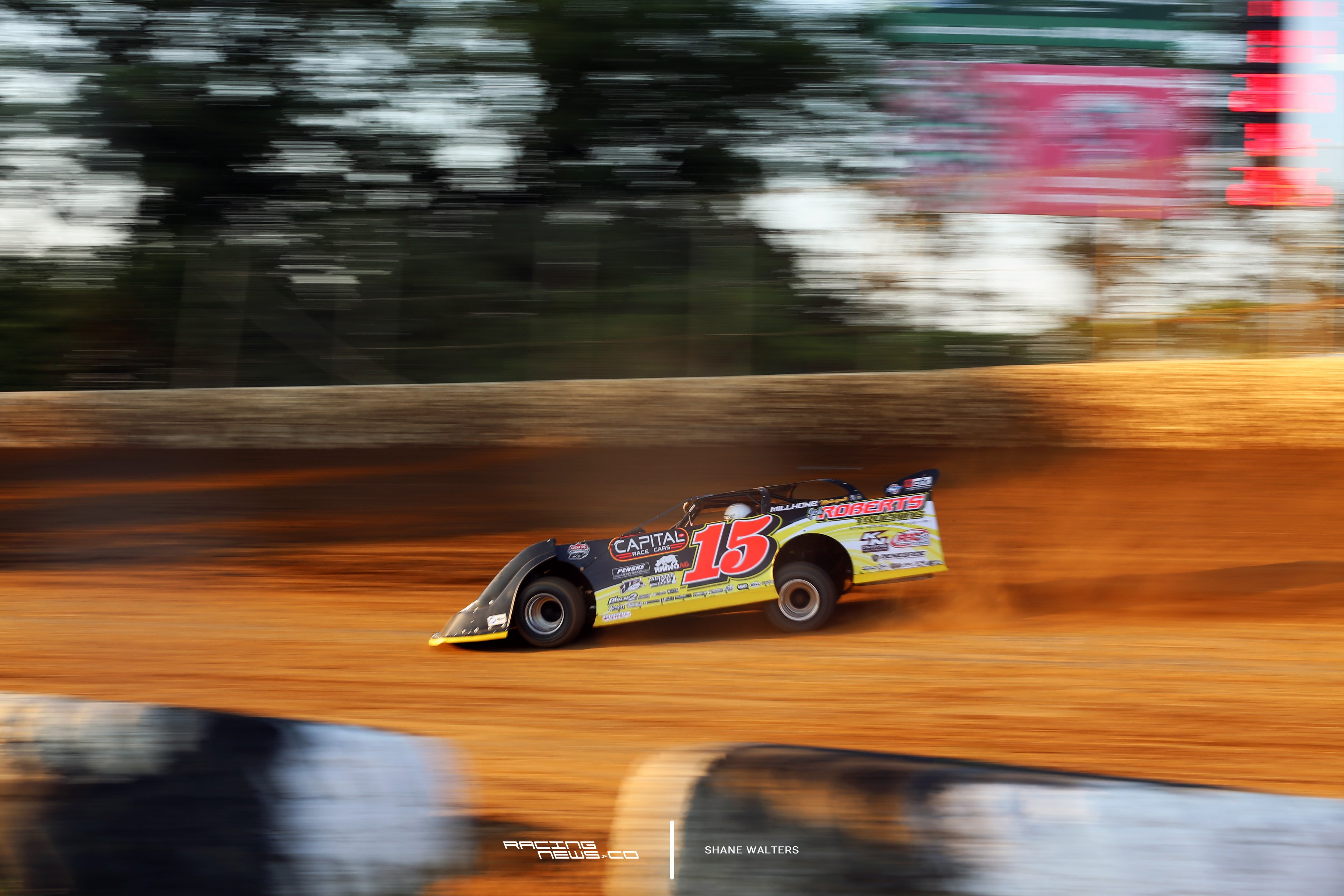Steve Francis at Florence Speedway