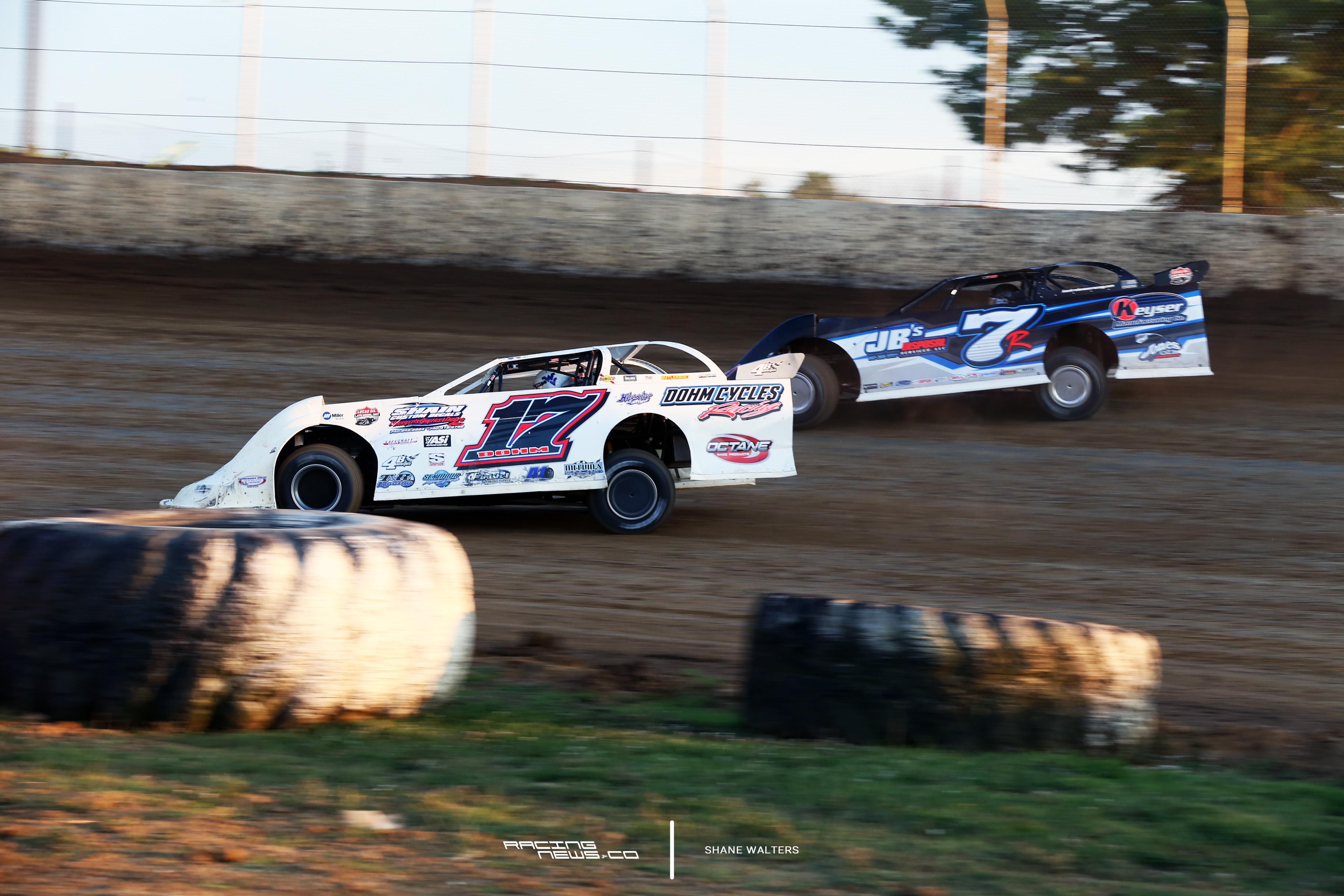 Tim Dohm at Florence Speedway 4390