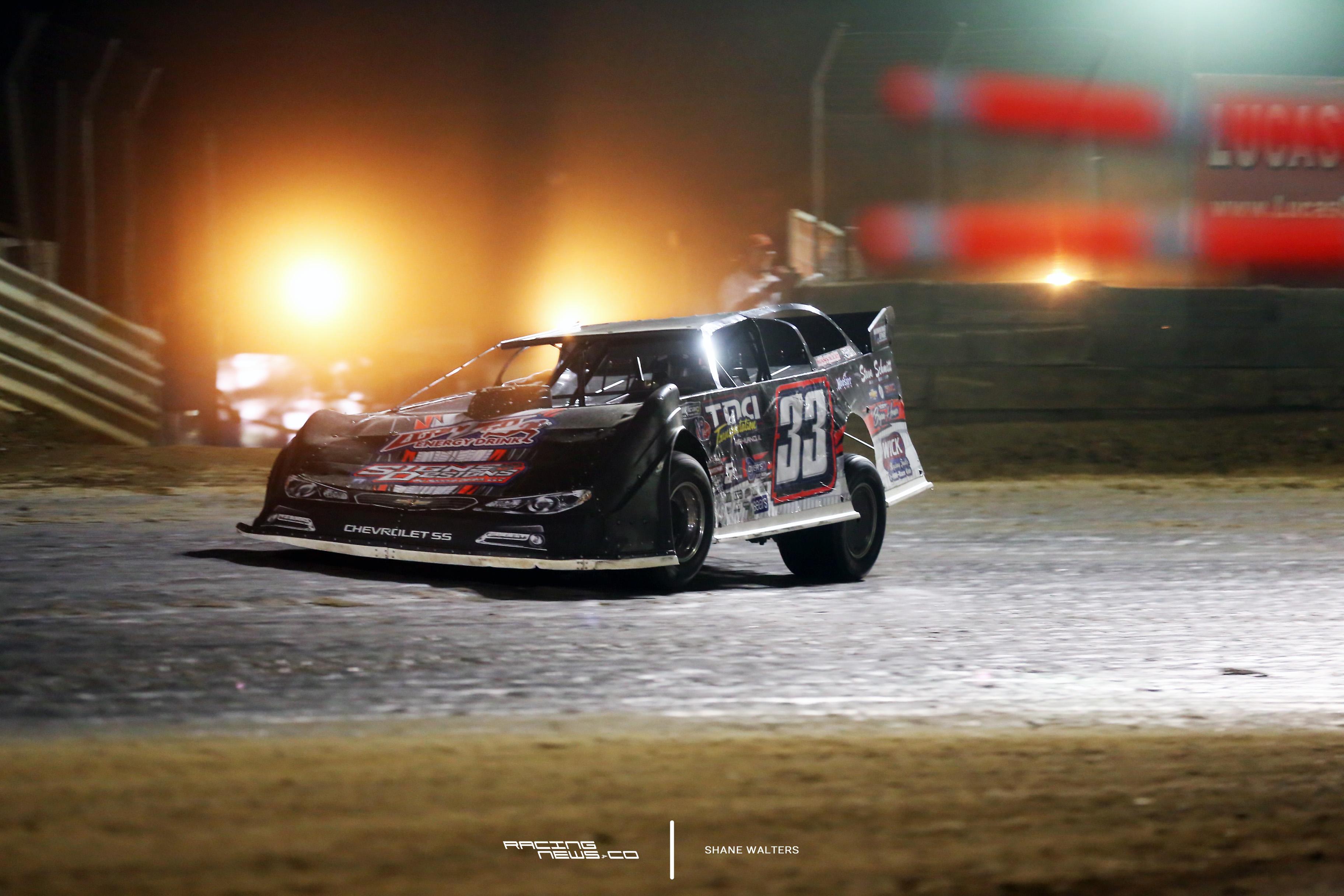 Tim Manville TTG 100 lapper at Belle-Clair Speedway 2740