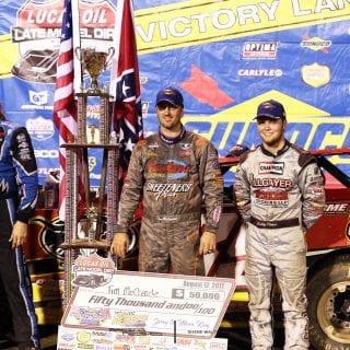 Tim McCreadie, Bobby Pierce and Scott Bloomquist 5007
