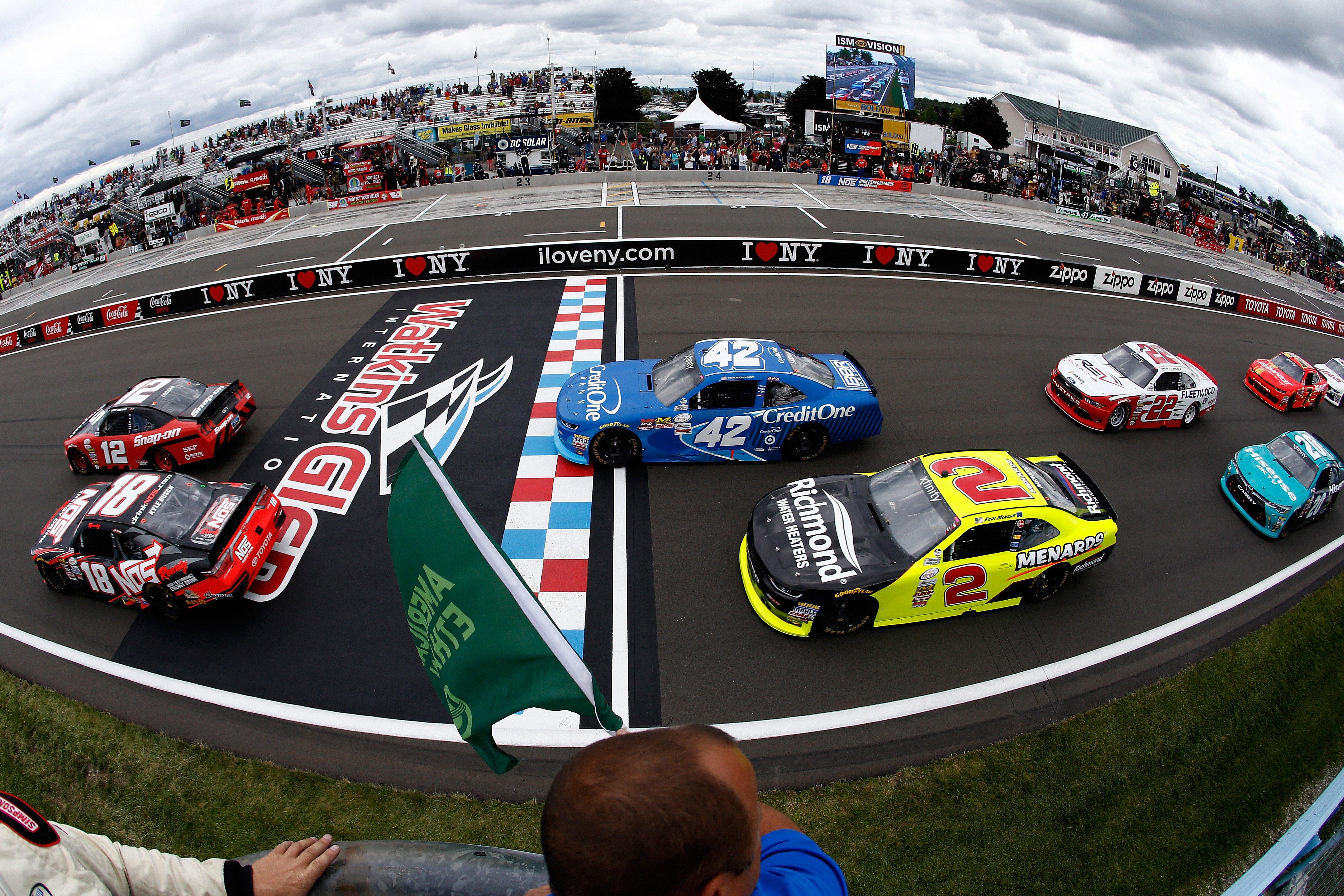 Circuito Watkins Glen : Nascar heat watkins glen international gameplay ps hd
