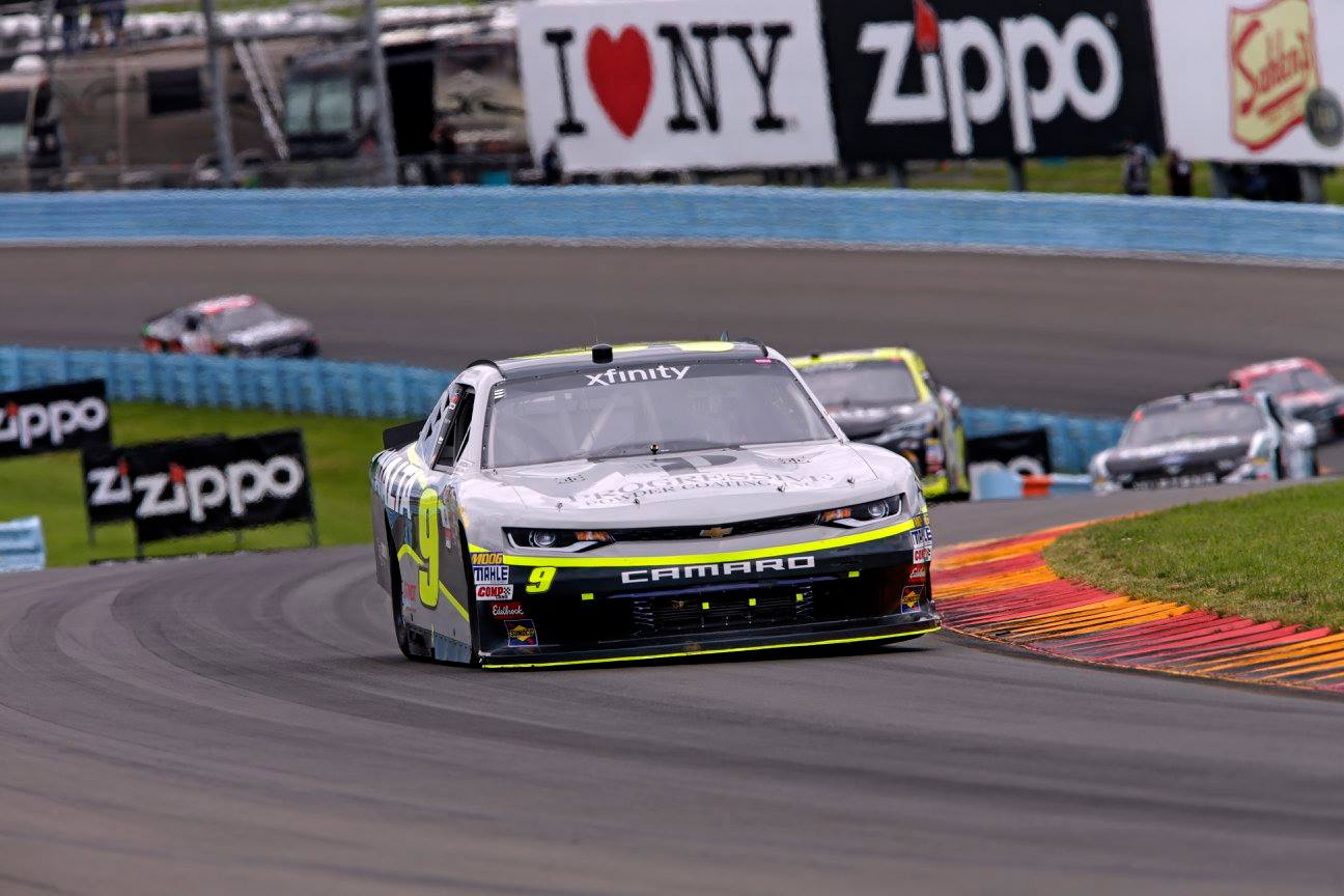 William Byron Watkins Glen NASCAR l1 penalty