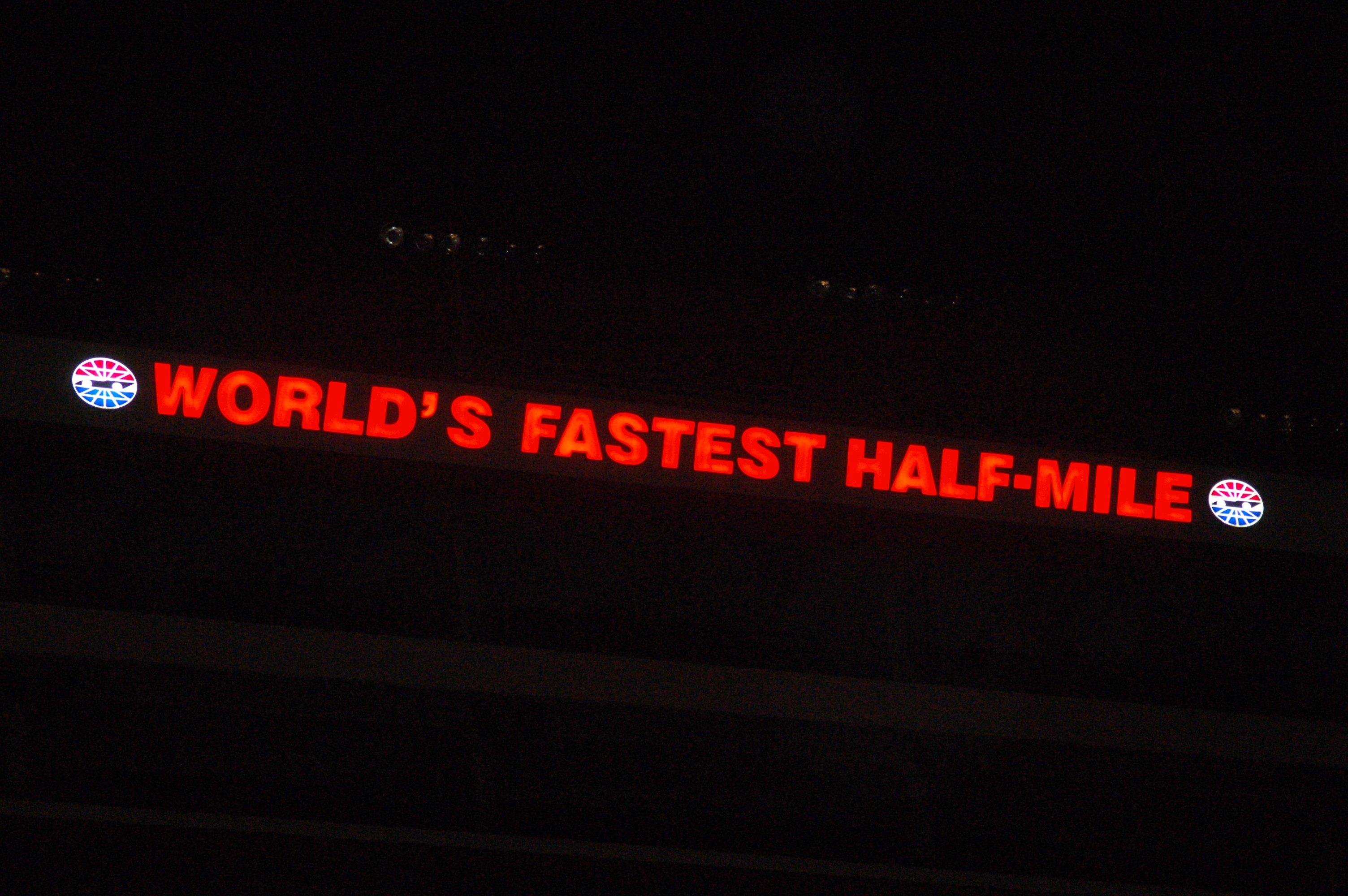 World's Fastest Half-Mile
