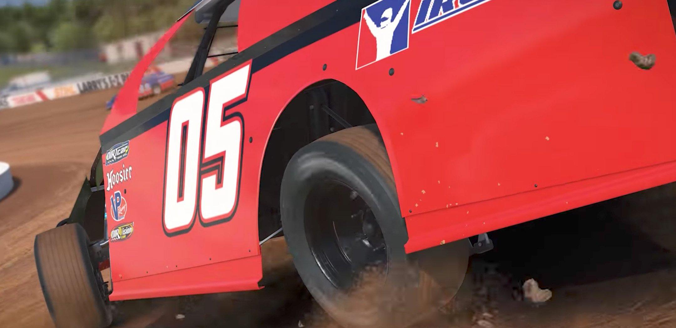 iRacing Dirt Modified Racing Game