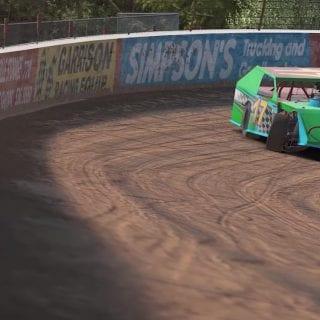iRacing Lanier Speedway Dirt Track